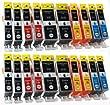 20 kompatible Druckerpatronen PGI-520 CLI-521
