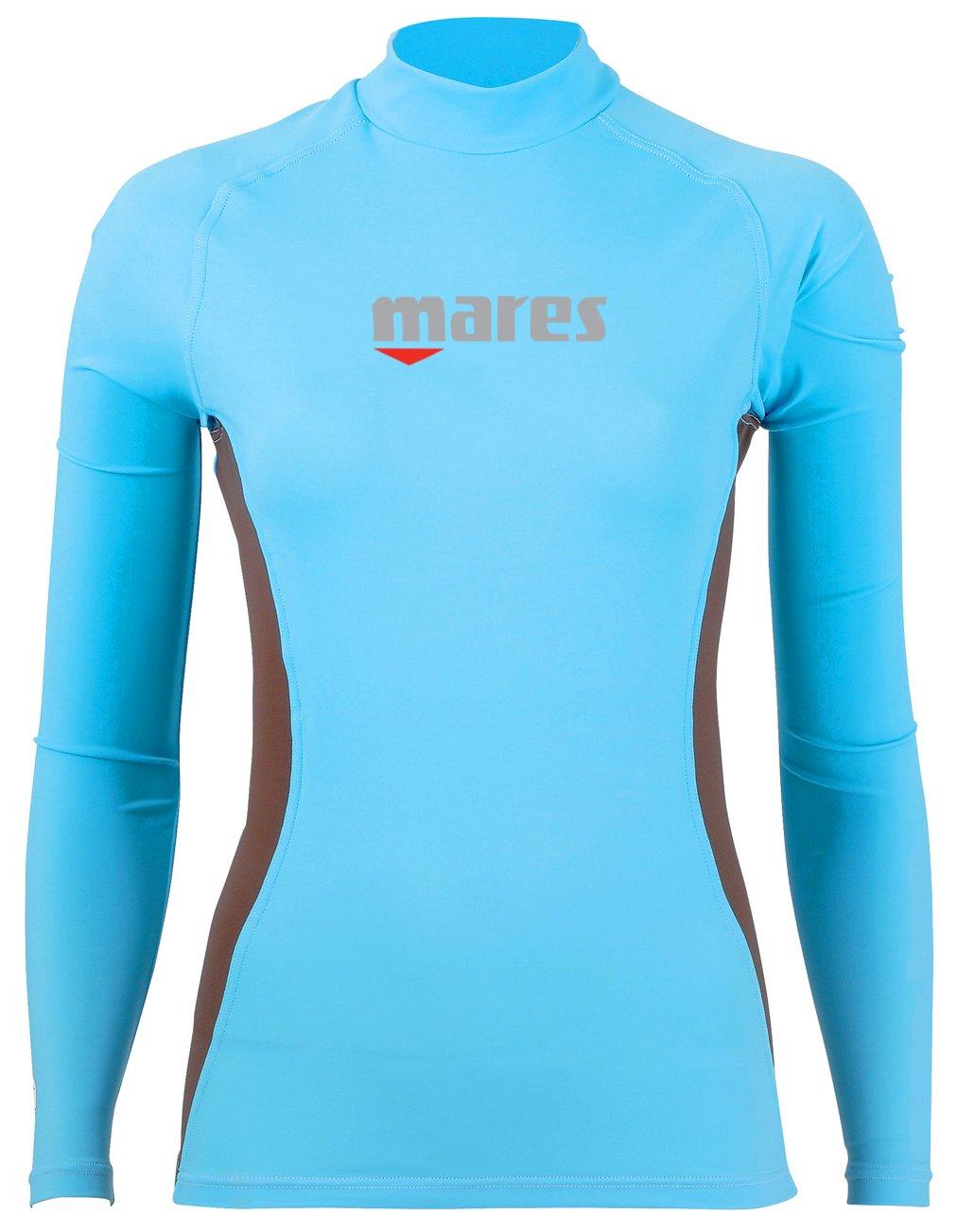 Mares Trilastic Womens Sun Protection Long Sleeve Rash Guard 50+ U.V. Protection