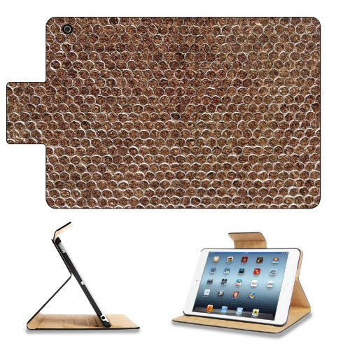 Tobacco Cigarettes Formed Pattern Design Apple Ipad Mini Flip Case Stand Smart Magnetic Cover Open Ports Customized Made To Order Support Ready Premium Deluxe Pu Leather 8 Inch (205Mm) X 5 1/2 Inch (140Mm) X 11/16 Inch (17Mm) Msd Ipad Mini Professional Ip