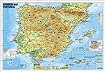 Spanien und Portugal physisch: Wandka...