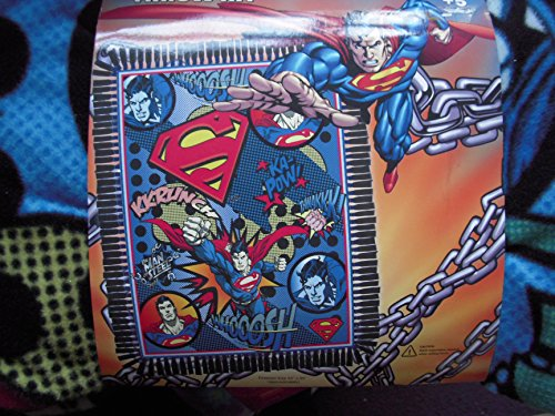 Superman No Sew Fleece Throw Kit front-85801