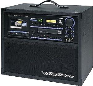 VocoPro BRAVO-Pro 160W Digital Key Control CD/CD+G Cassette System
