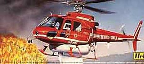 Heller - 80485 - Construction Et Maquettes - Ecureuil Bombardier D'Eau - Echelle 1/48ème