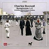 Gounod : Symphonies n° 1 à 3. Caetani.