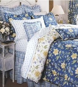 Laura Ashley Emilie Collection Queen Comforter Set   Bedspreads
