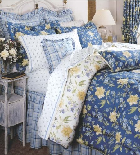 Laura Ashley Emilie Collection Queen Comforter