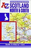 img - for Scotland North and South Road Map AZ (A-Z Road Maps & Atlases) book / textbook / text book