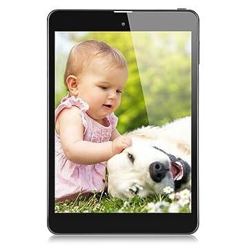 Freelander® 7,85 pouce IPS Ecran Tablette PC 3G Débloqué tactile Android 4.2 MTK8382 Quad Core 1.2GHz 1Go RAM+16Go ROM Tablette Dual SIM avec 5,0 mégapixel caméra-Bluetooth WIFI GPS Téléphone 2G/3G pour op&eac