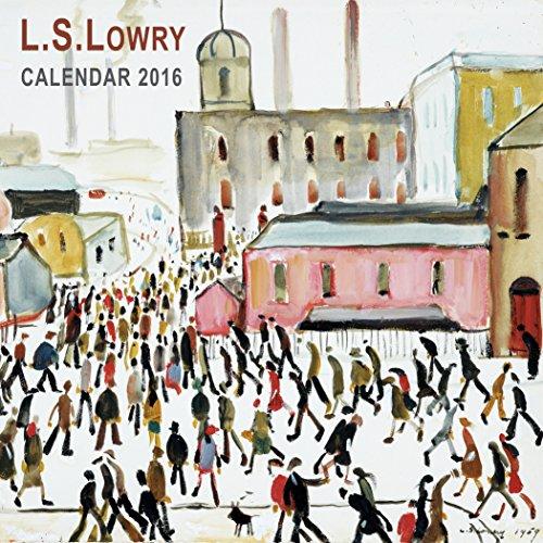 L.S. Lowry Mini Wall Calendar 2016 (Art Calendar)