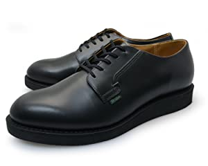 REDWING [ ポストマン シューズ ] POSTMAN SHOE [ ブラック 黒 ] BLACK 101 [ オックスフォード レザー 本革 ] OXFORD LEATHER ワーク シューズ