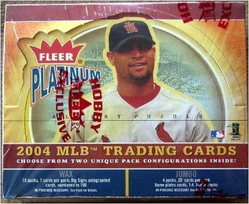 2004 Fleer Platinum Baseball Cards Hobby Box