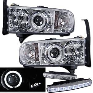 2000 dodge ram 1500 halo headlights projector. Black Bedroom Furniture Sets. Home Design Ideas
