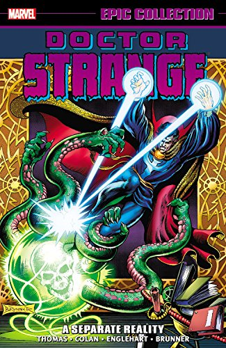 Dr Strange Epic Collection: A Separate Reality