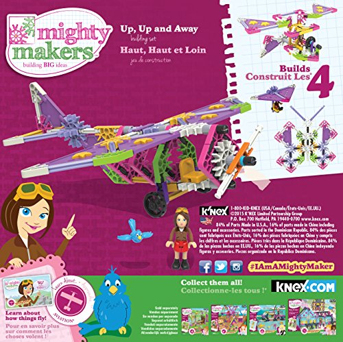 K'NEX Mighty Makers Up, Up and Away Building Set JungleDealsBlog.com