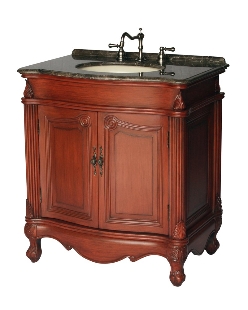 32-Inch Antique Style Single Sink Bathroom Vanity Model 2917-32 MXC 0
