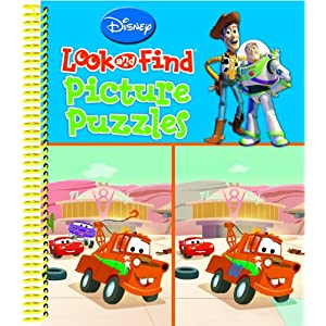 Disney Pixar Look and Find Picture Puzzles