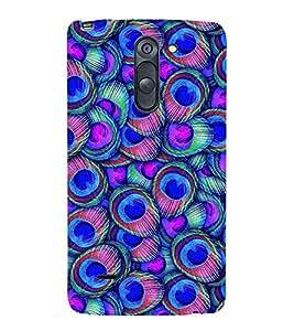 Peacock Wall Art 3D Hard Polycarbonate Designer Back Case Cover for LG G3 Stylus :: LG G3 Stylus D690N :: LG G3 Stylus D690