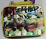 Animated Teenage Mutant Ninja Turtles School Lunch Box Tote