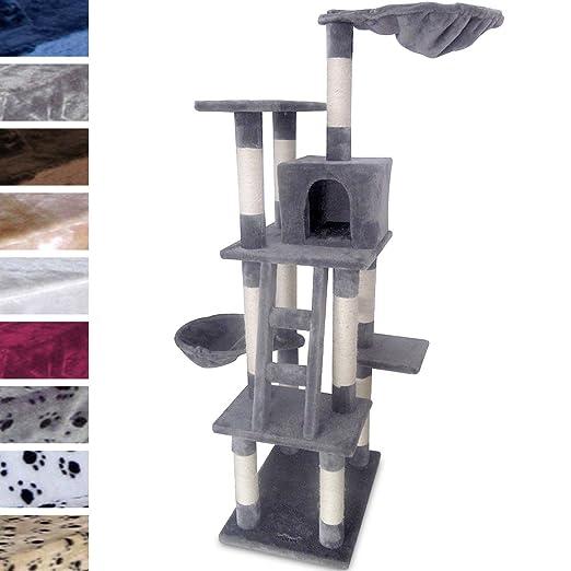 9 arbre chat grattoir grattoir 1 63 m diverses couleurs au choix animalerie m193. Black Bedroom Furniture Sets. Home Design Ideas