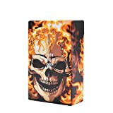 Cigarette Case/Box - King Size Cigarettes New Design Fancy Style Box-Flame (Color: Flame)