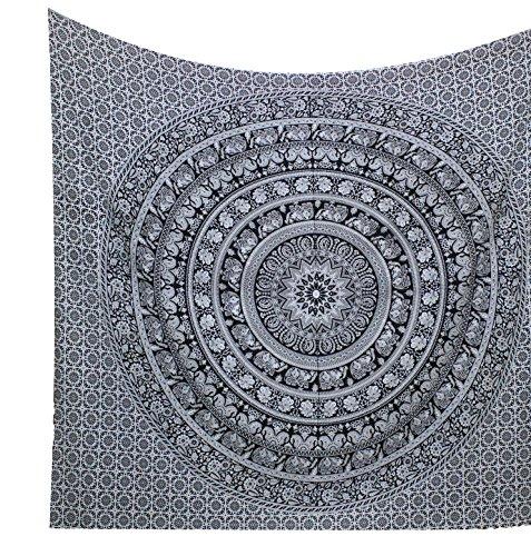 kesrie-wall-decor-art-hippie-boho-tapestry-hanging-black-and-white-elephant-print