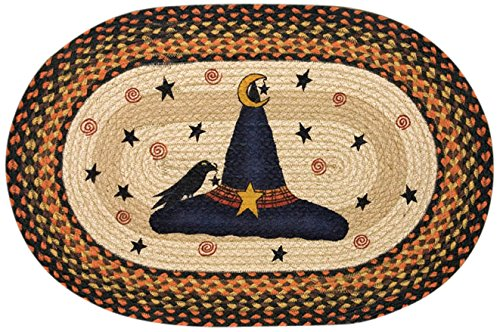 Earth Rugs OP-Witch Hat Design Rug, 20 x 30