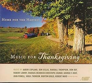 収穫感謝祭のための音楽