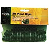 20 Garden Plant Clips. Ideal For Securing Plants To Plant Supports e.g Canes / Bamboo