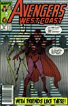 Avengers West Coast #47 : With Friends Like These (Marvel Comics)