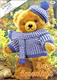 Loveth Bear Essentials Knitting Pattern Booklet: Sweater, Hat, Scarf, Jacket, Duffle Coat, School Uniforms, Picnic Suit, Dress, Apron, Shawl, Dressing Gown, Night Shirt and Cap, Sweater and Socks, Dress, Pantaloons and Mob Cap (3 sizes 15