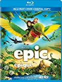 Epic / Epique (Bilingual) [Blu-ray + DVD + UltraViolet Copy]