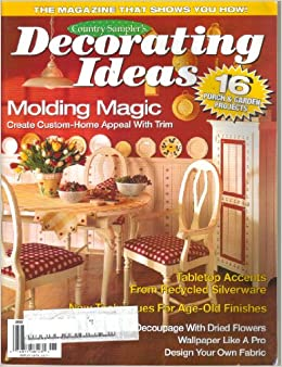 country sampler 39 s decorating ideas vol 5 no 3 june
