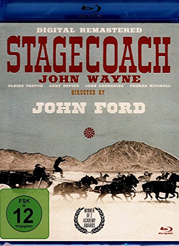 Stagecoach (Remastered Edition) [Blu-ray]