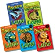 Dinosaur Land Collection - 5 Books RRP �19.96 (Dinosaur Land: Double Trouble!; Dinosaur Land: The Magic Fossil; Dinosaur Land: Lost in the Wild!; Dinosaur Land: The Great Escape!; Dinosaur Land: Sky High!)