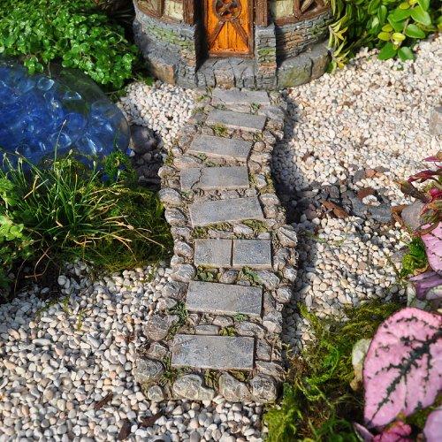 Wholesale fairy gardens miniature fairy garden stone walkway grey