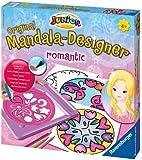 Ravensburger 29897 Mandala Designer ® Junior - Set de diseño y dibujo motivos románticos [Importado de Alemania]