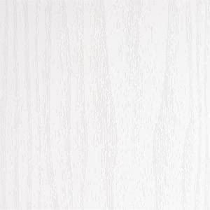 REDODECO Adhesive Wood Grain Paper Peel and Stick Furniture Stickers Wallpaper Cabinets Wardrobe Contact Paper,15.8inch by 98in (White) (Color: White, Tamaño: 17.7Wx98L)