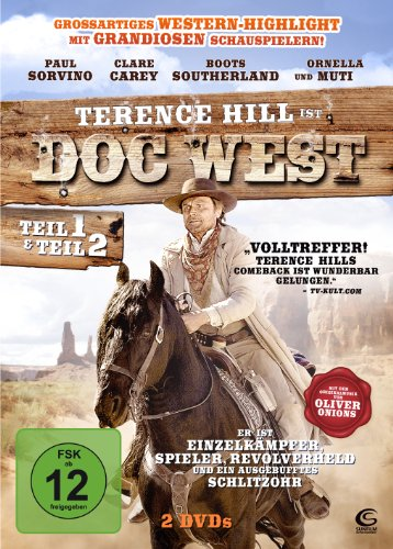 Doc West - Teil 1 & Teil 2 (Doc West - Nobody ist zurück / Doc West - Nobody schlägt zurück) [2 DVDs]