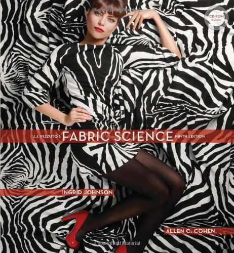 J.J. Pizzuto's Fabric Science 9th edition