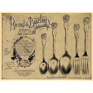 Reed & Barton Vintage Silverplate Sterling Flatware Silverware
