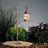 Buy Best Kichler Lighting 15334OB Concord Lantern 1-Light 12-Volt Landscape Path & Spread Light- Olde Brick with Seedy Glass With Big Discount