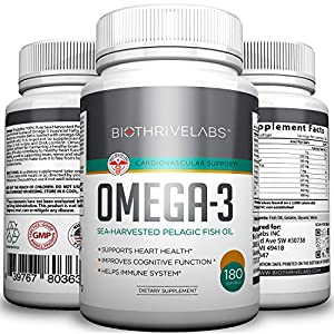 Pure omega 3 fish oil pills 60 softgels with for Side effects of fish oil supplements
