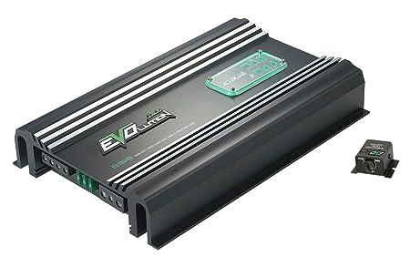 Lanzar EV1804D Amplificateur avec 1 canal Classe D 1500 W Noir