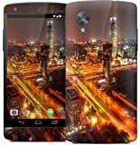 GELASKINS JAPAN Google Nexus 5 対応 保護 スキンシール 【Downtown Beijing After Rain】 NEXUS5-0030