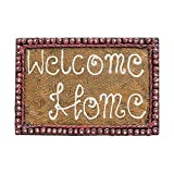 999Store welcome home name plate door hanging handicraft gift item home décor hand painting