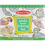 Jumbo Animal Coloring Pad (Melissa & Doug: Art Essentials)