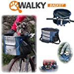 Walky basket Pet Dog Bicycle Bike Bas...