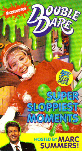 Amazon.com: Double Dare: Super Sloppiest Moments [VHS