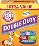 Arm & Hammer Double Duty Clumping Litter, 40-Pound