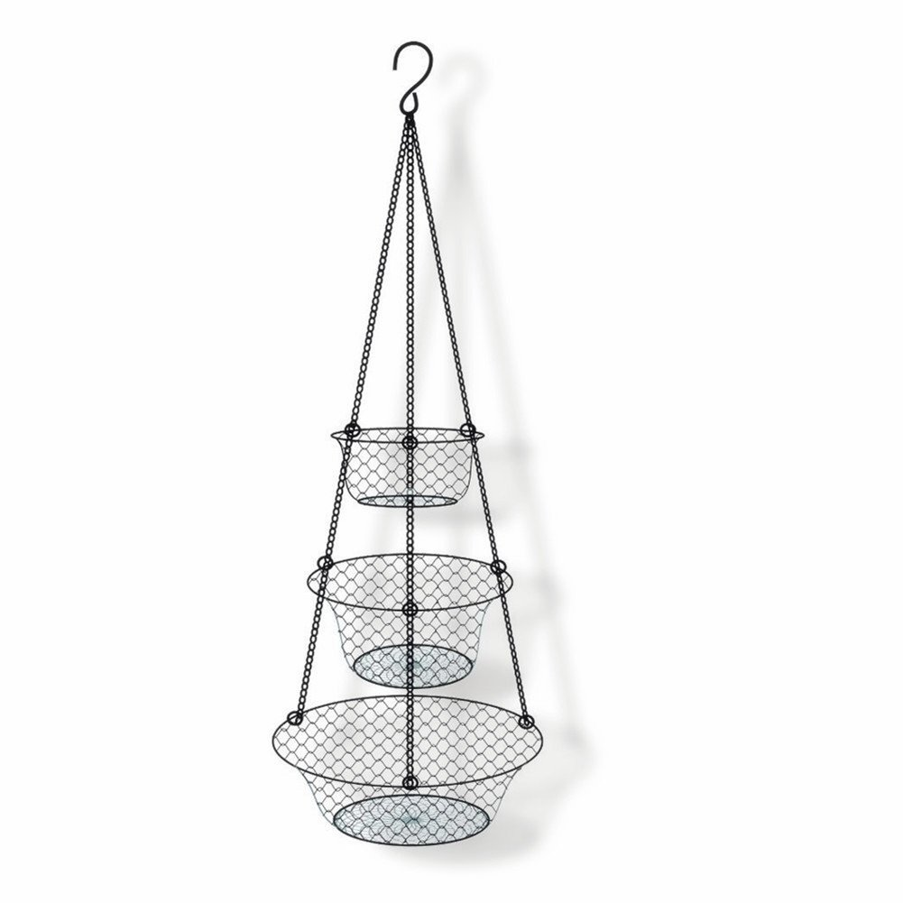 3 Tier Hanging Basket Storage Organizer For Fruits